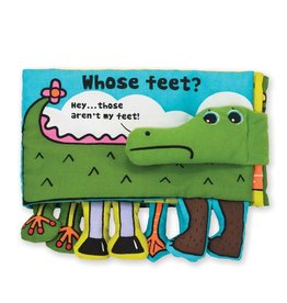 Melissa & Doug Whose Feet? Soft book