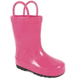 Trimfoot Co. Fuchsia Rubber Rain Boot