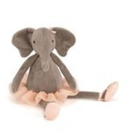 Jellycat Dancing Darcey Hippo Small