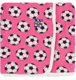 Kickee Pants Swaddle Blanket Flamingo Soccer