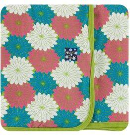 Kickee Pants Swaddle Blanket Tropical Flowers