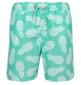 Snapper Rock International Men's Mint Pineapple Boardie