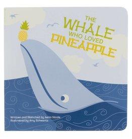 Kickee Pants Book Whale/Pineapple