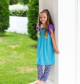 Flit & Flitter Violet Adele Dress