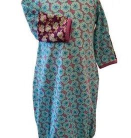 Flit & Flitter Violet Gown Contrast