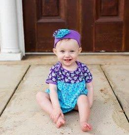 Flit & Flitter Violet Lola Onesie