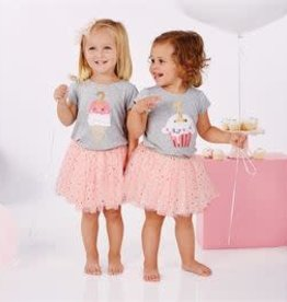 Mud Pie First Birthday Confetti Tutu Set