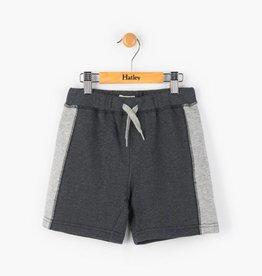 Hatley Charcoal Marl Stripe Shorts
