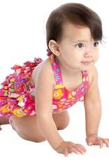 Masala Baby Baby Girl English Garden Pink One Piece