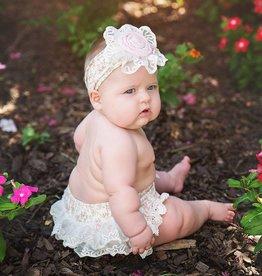Haute Baby Sweet Pea Print Diaper Cover, 0/3M