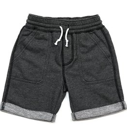 Kapital K Stone Pull-On Drawstring Short w/ Roll Cuffs