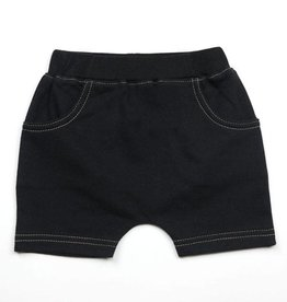 Kapital K Black Baby French Terry Pull-On Short