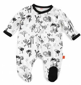 Magnificent Baby Animal Safari Modal Footie