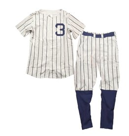 Wes And Willy SS Ruth Baseball PJ Set
