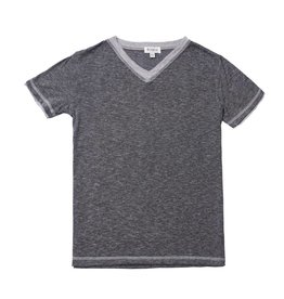 Fore!! Axel & Hudson S/S Heather Charcoal Melange Jersey T-shirt, 7