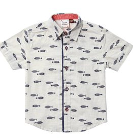 Fore!! Axel & Hudson S/S Fly Fish Shirt,