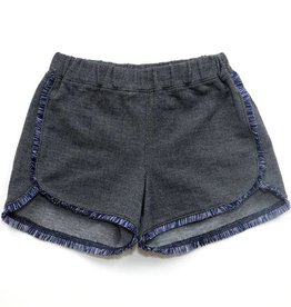 Kapital K Dark Navy Spandex Twill Jersey Short