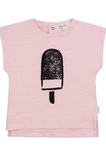 Miles Baby Light Pink Baby Tee w/ Popsicle Graphic