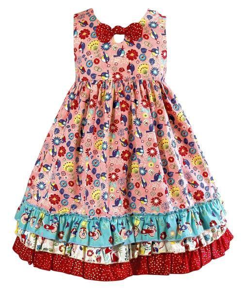 Little Miss Marmalade Joyride Crush Dress