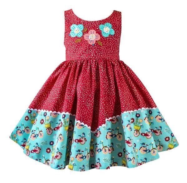 Little Miss Marmalade Joyride Dolores Park Red Dress