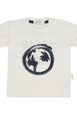 Miles Baby The World Awaits Off-White Baby Tee