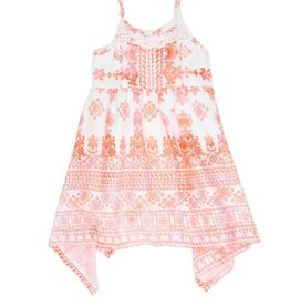 Mimi & Maggie Summer In Paradise Dress Orange