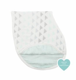 Aden & Anais Metallic Skylight Birch Silky Soft Burpy Bib