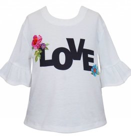 Truly Me White Love Shirt