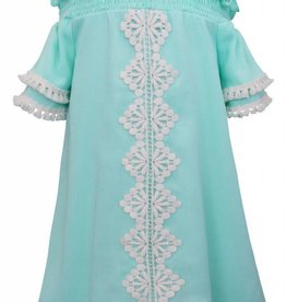 Truly Me Mint and White Dress