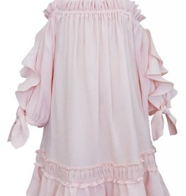 Truly Me Pink Ruffled Dress
