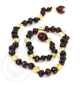 Momma Goose Products Ltd Amber Necklace Bar. Cher/Lem