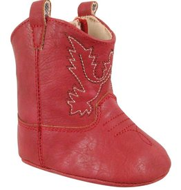 Trimfoot Co. Red Cowboy Boot