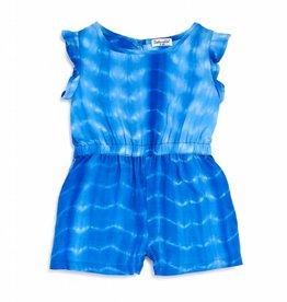 Splendid Tie-Dye Marina Blue Romper