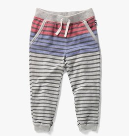 Splendid Pant Reversible Stripe Light Grey Heather