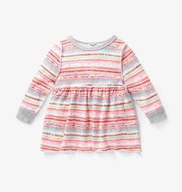 Splendid Sweater Set Stripe Coral Fan