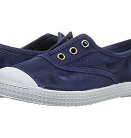 Cientas Faded Navy Laceless Shoe