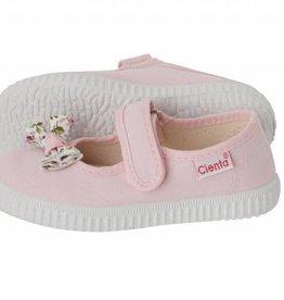 Cientas Pink Strap w/ Bow Shoe