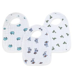 Aden & Anais Jungle Jam Snap Bibs