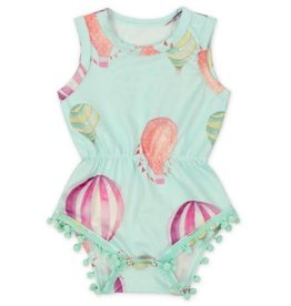 Mila & Rose Hot Air Balloon Pom Pom Romper