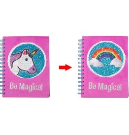 Three Cheers for Girls! Unicorn Magic Sequin Journal