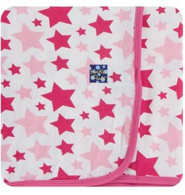 Kickee Pants Swaddle Blanket Flamingo Star