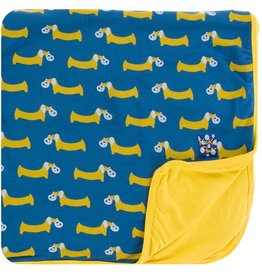 Kickee Pants Toddler Blanket Twilight Pretzel Pup