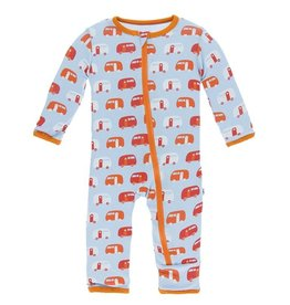 Kickee Pants Zip Coverall Pond Camper