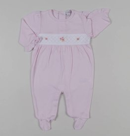 Kissy Kissy Rose Garden Footie Pink