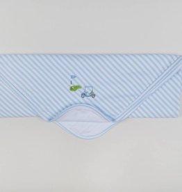 Kissy Kissy Mini Golf Stripe Blanket