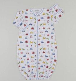 Kissy Kissy Rush Hour Print Converter Gown, Small (0/3M)