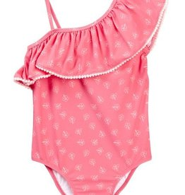 Jessica Simpson Confetti Floral Swimsuit