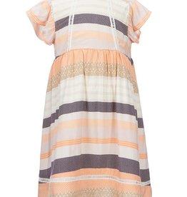 Jessica Simpson Dress & Panty Set Papaya Punch Multi Stripe