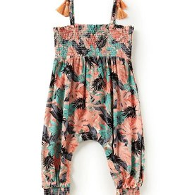 Jessica Simpson Romper Tropical Flowers