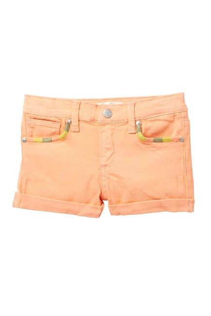 Jessica Simpson Denim Shorts Papaya Punch